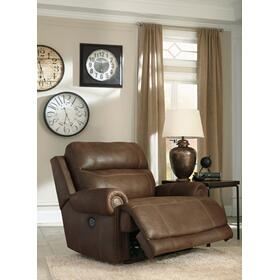 Austere Zero Wall Power Wide Recliner Brown