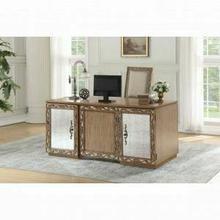 ACME Orianne Executive Desk - 91435 - Antique Gold