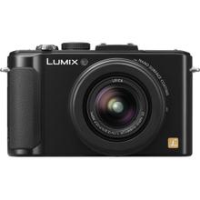 LUMIX DMC-LX7 10.1 MP 3.8X Advanced Zoom Digital Camera - Black