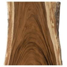 """See Details - Live Edge Guanacasta 48"""" Cafe Table Top"""