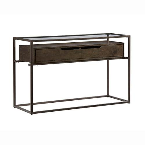 Sofa/Console Table - Contemporary Umber Finish