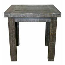 See Details - Barnwood End Table