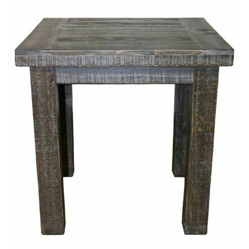 Million Dollar Rustic - Barnwood End Table