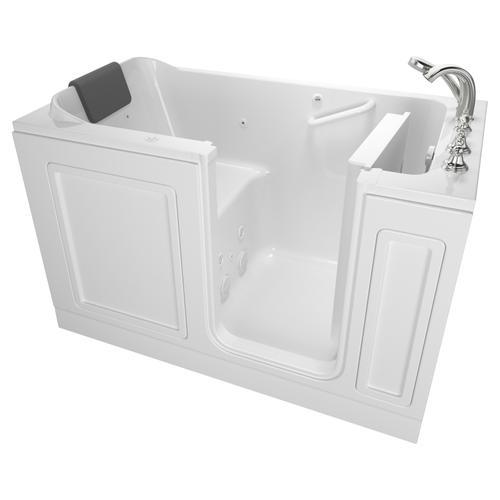 Acrylic Luxury Series 32x60 Whirlpool System Walk-in Tub, Right Drain  American Standard - White