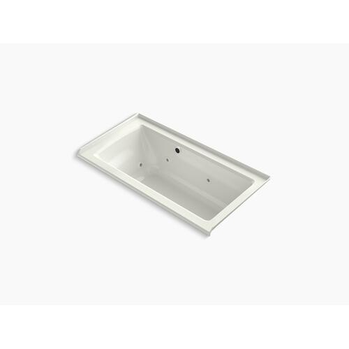 "Dune 60"" X 30"" Alcove Whirlpool Bath With Bask Heated Surface, Integral Flange, and Right-hand Drain"