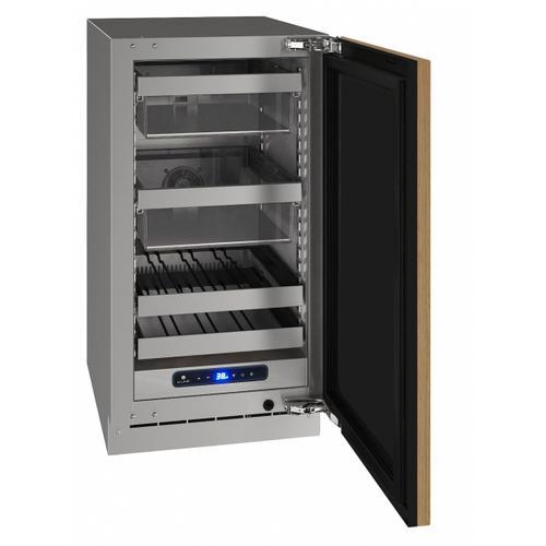 "U-Line - Hbv518 18"" Beverage Center With Integrated Solid Finish and Field Reversible Door Swing (115 V/60 Hz Volts /60 Hz Hz)"