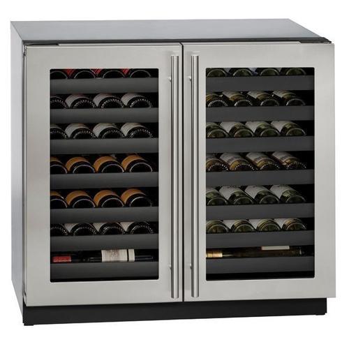 "3036wcwc 36"" Dual-zone Wine Refrigerator With Stainless Frame Finish (115 V/60 Hz Volts /60 Hz Hz)"