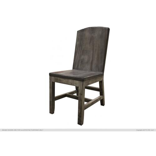 Solid Parota Chair, Moro Finish