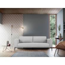 View Product - Divani Casa Jada - Modern Light Grey Fabric Sofa