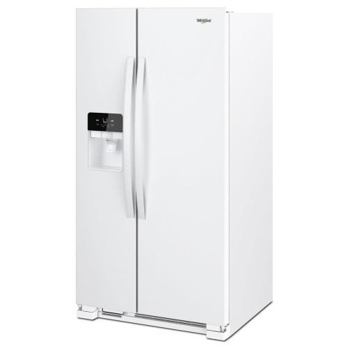Whirlpool - 36-inch Wide Side-by-Side Refrigerator - 25 cu. ft.