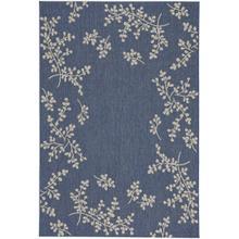 Finesse-Winterberry Capri Blue Machine Woven Rugs