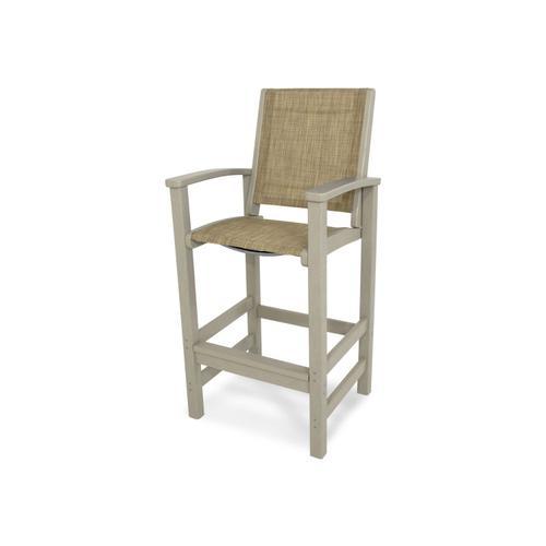 Sand & Burlap Coastal Bar Chair