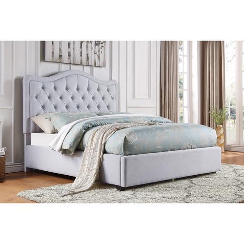 California King Platform Bed with Storage Drawers