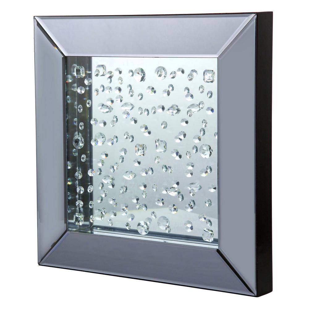 See Details - Square Wall Mirror 264h