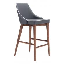 Moor Counter Chair Dark Gray