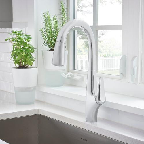 American Standard - Avery Pull-Down Kitchen Faucet  American Standard - Polished Chrome