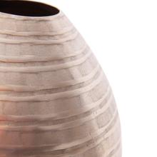 View Product - Chiseled Champagne Teardrop Vase, Small