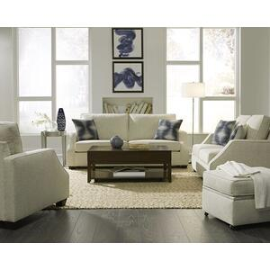 3 Cushion Sofa - Shown in 105-05 Ivory Chenille Finish