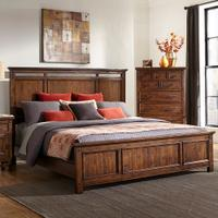 Wolf Creek Panel Bed Product Image
