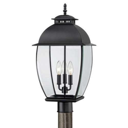 Quoizel - Bain Outdoor Lantern in Mystic Black