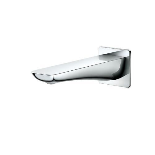 Tub Spout - Modern S - Polished Chrome Finish