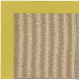 Creative Concepts-Sisal Canvas Lemon Grass Machine Tufted Rugs