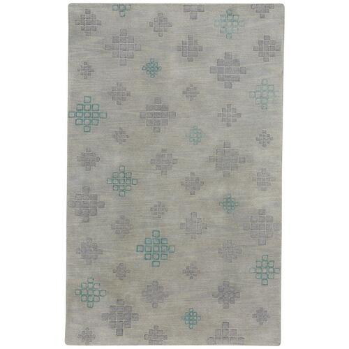 """Capel Rugs - Glace Silver Grey - Rectangle - 3'3"""" x 5'3"""""""