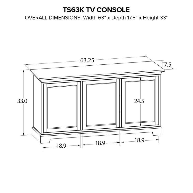 TS63K Custom TV Console
