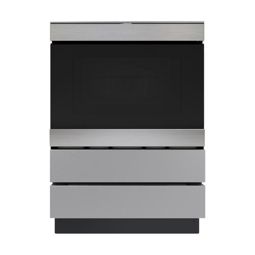 Sharp - 24 in. Under the Counter Convection Microwave Drawer Oven Pedestal