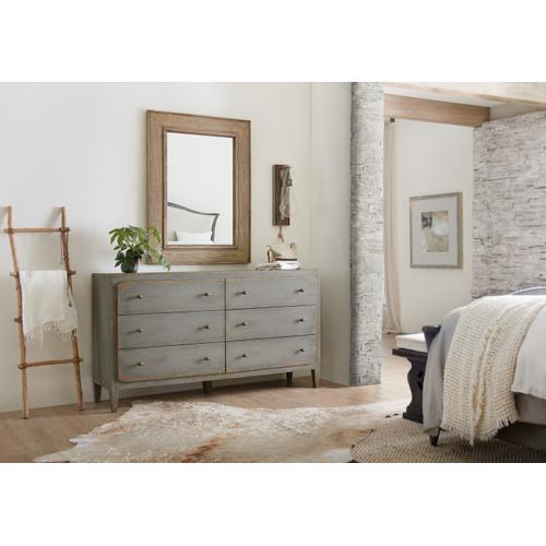 Hooker Furniture - Ciao Bella Landscape Mirror- Natural