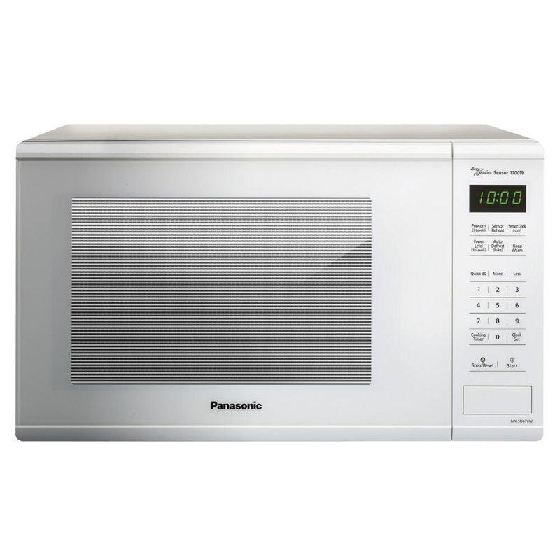 1.3 Cu. Ft. 1100W Countertop Microwave Oven - White - NN-SU676W