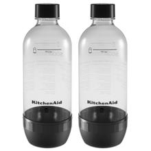 Reusable Carbonating Bottle - Twin Pack (Fits model KSS1121) Onyx Black