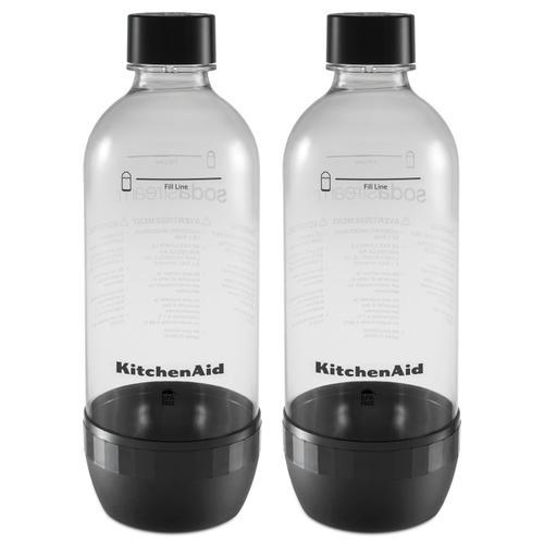 Reusable Carbonating Bottle - Twin Pack (Fits model KSS1121) Onyx Black
