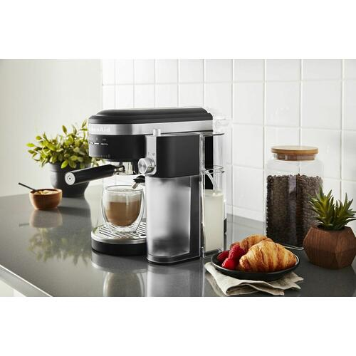 KitchenAid - Automatic Milk Frother Attachment - Black Matte