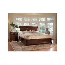 Charleston Platform Panel Ca King Bed