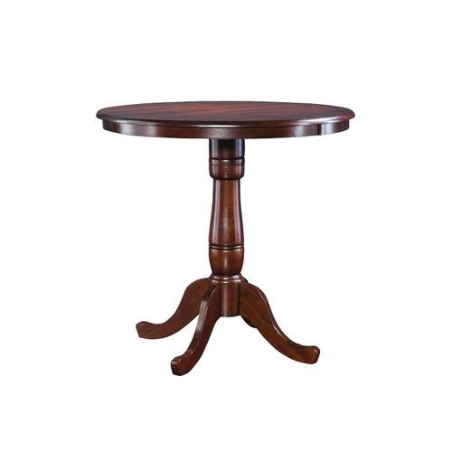 John Thomas Furniture - 36'' Pedestal Table in Espresso
