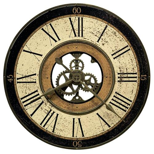 Howard Miller Brass Works Oversized Wall Clock 625542