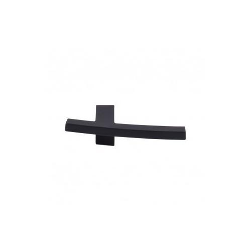 Slanted A Knob 3 Inch - Flat Black