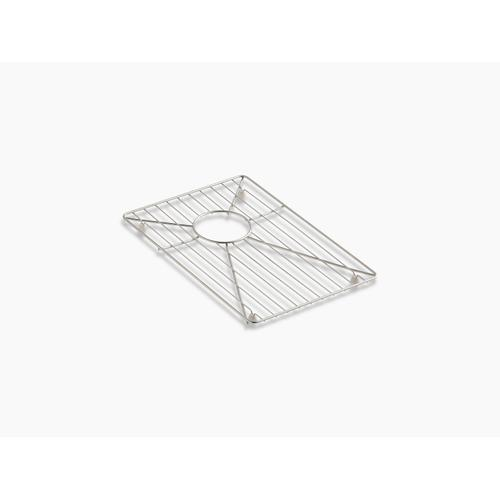 """Stainless Steel Stainless Steel Sink Rack, 11-3/16"""" X 16-11/16"""" for 36"""" Offset Apron-front Sink"""