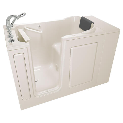 Premium Series  28x48-inch Walk-in Tub  Air Spa  Left Drain  American Standard - Linen