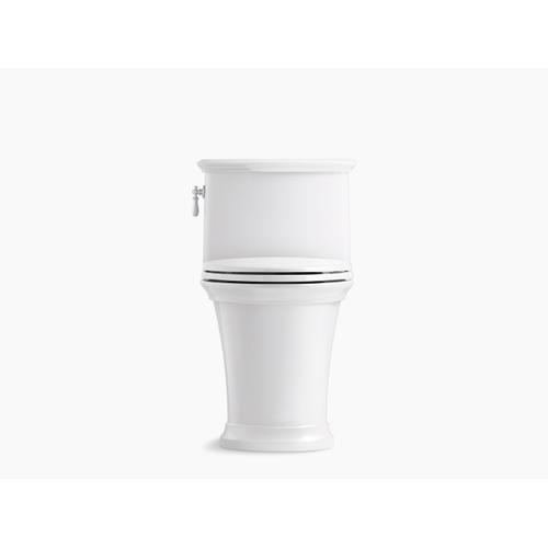 White One-piece Compact Elongated 1.28 Gpf Toilet
