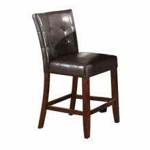 ACME Danville Counter Height Chair (Set-2) - 07055 - Espresso PU & Walnut
