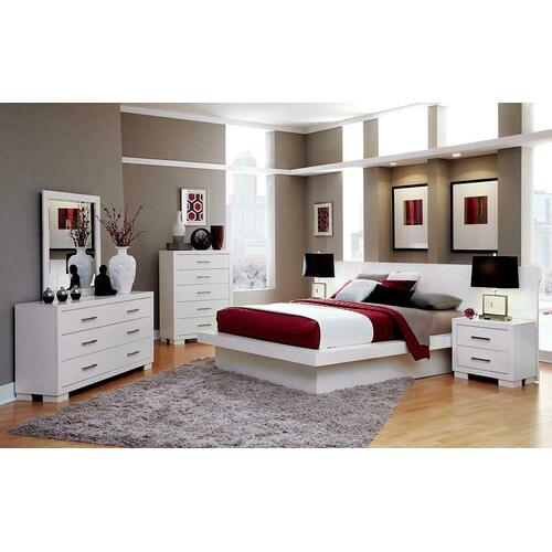Jessica Contemporary White California King Five-piece Set