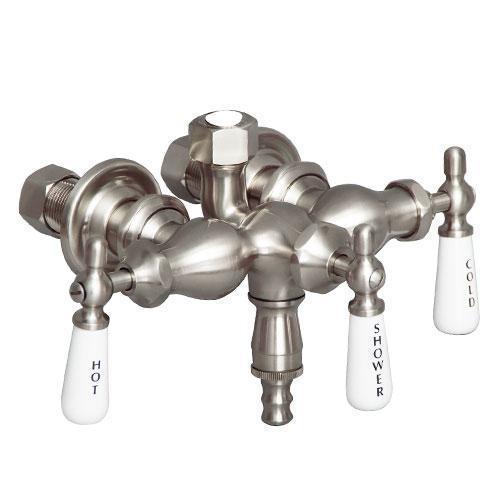 Tub Filler with Diverter - Tub Filler Only - Brushed Nickel