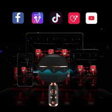 See Details - MONSTER Superstar Dynamic Karaoke Microphone, Handheld Wireless Bluetooth Karaoke Machine, Bluetooth 5.0 TWS Portable Speaker Mic for Home, Party, Car, Outdoor (Monster M97 Black)