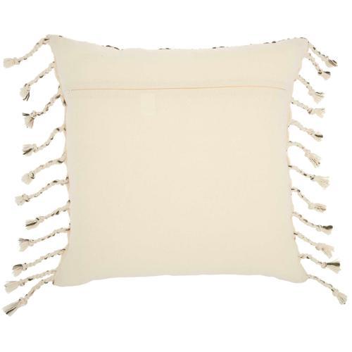 "Life Styles Gt119 Natural 20"" X 20"" Throw Pillow"