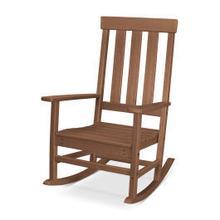 View Product - Prescott Porch Rocking Chair in Teak