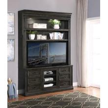 See Details - WASHINGTON HEIGHTS 66 in. TV Console with Hutch