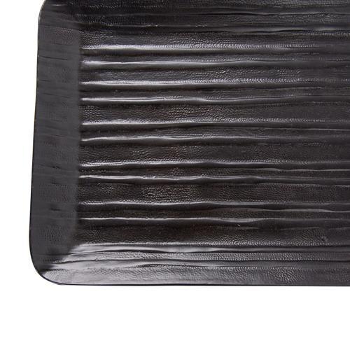Howard Elliott - Chiseled Black Tray, Small