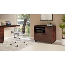 See Details - Sequel 20 6117 Multifunction Cabinet in Chocolate Walnut Black